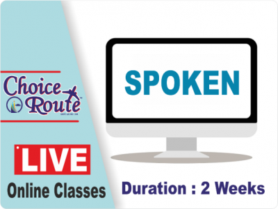 SPOKEN & GRAMMAR 2 Weeks